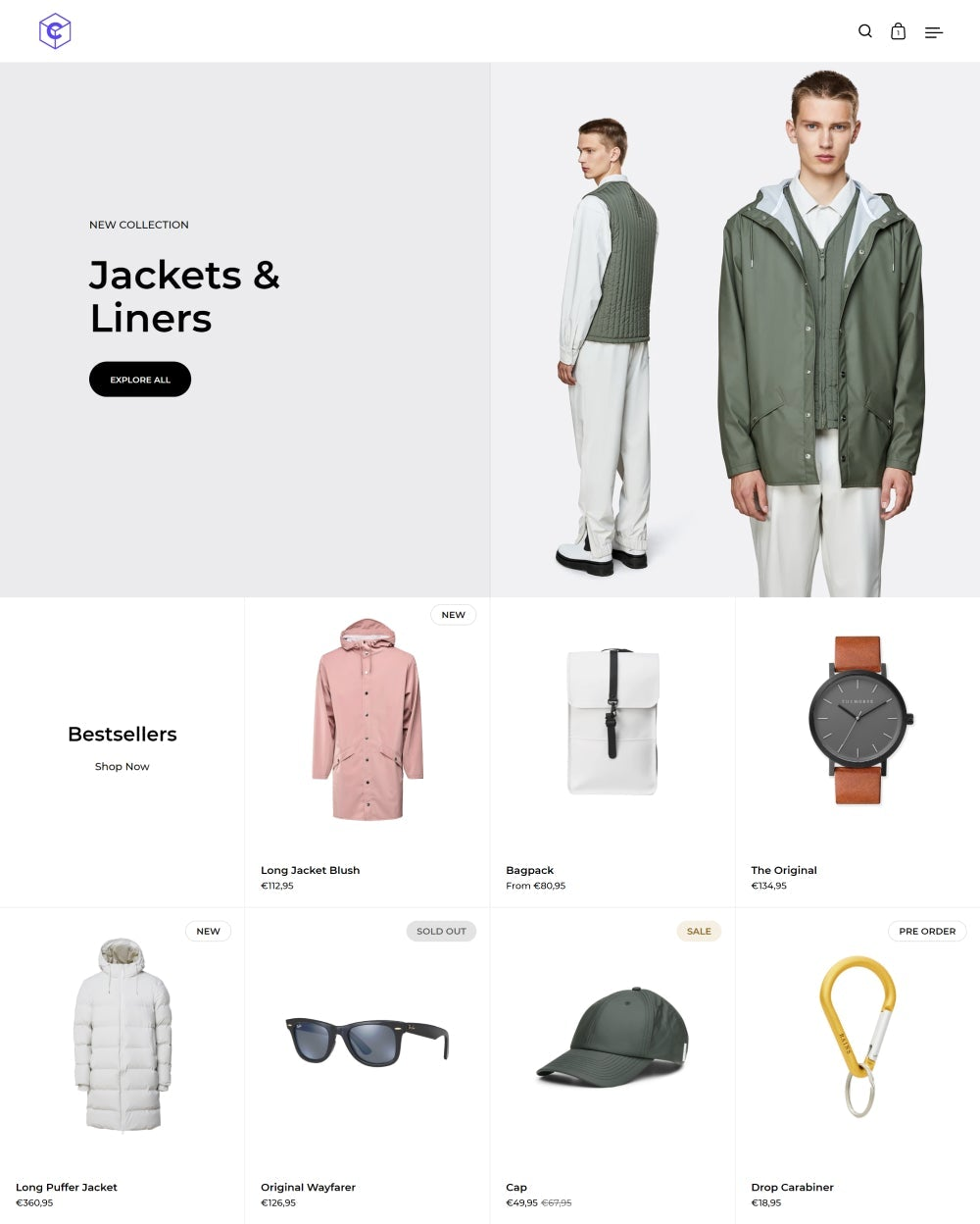 Shopify Split Theme